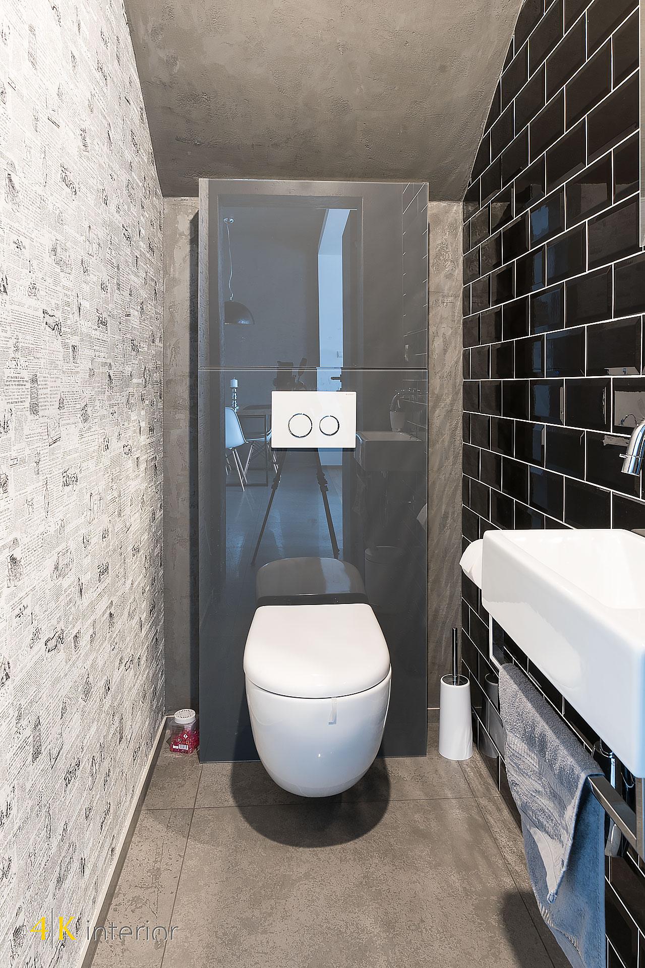 NOWOCZESNE-WNĘTRA-DOMU-Z-MOTYWEM-ELIPSY-04 oryginalna toaleta z fototapetą